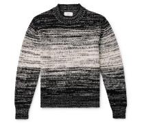 Dégradé Alpaca-Blend Mock-Neck Sweater
