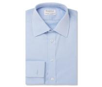 + Turnbull & Asser White Double-Cuff Cotton-Twill Shirt
