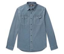 Lee Striped Cotton-Chambray Shirt