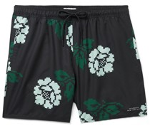 Timothy Rose Mid-Length Swim Shorts
