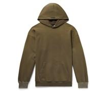 The Vintage Fleece-Back Cotton-Jersey Hoodie