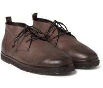 Full-grain Leather Desert Boots