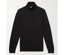 Slim-Fit Merino Wool Rollneck Sweater