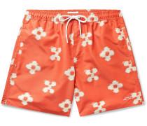 Timothy Mid-Length Printed Ripstop Swim Shorts