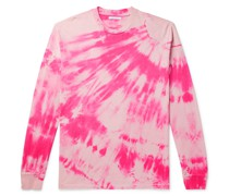 University Tie-Dyed Cotton-Jersey T-Shirt