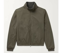 Reversible Windmate Storm System Shell and Cashmere Bomber Jacket