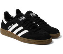Spezial Leather-trimmed Suede Sneakers
