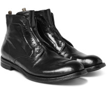 Anatomia Polished-leather Derby Boots