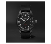 Pilot's TOP GUN Automatic 41mm Ceramic And Webbing Watch, Ref. No. IW326901