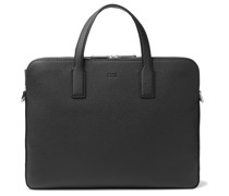Crosstown Full-Grain Leather Briefcase