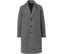 Oversized Mélange Wool Coat