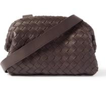 Hidrology Intrecciato Leather Messenger Bag