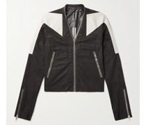 Trapunto Klaus Slim-Fit Nappa Leather Jacket