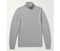 Wool and Cashmere-Blend Rollneck Sweater