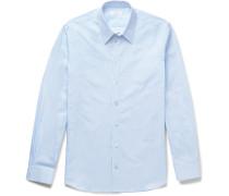 Moriston Striped Cotton-poplin Shirt