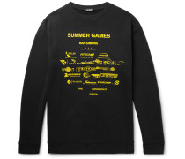 Oversized Printed Loopback Cotton-jersey Sweatshirt