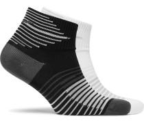 Two-pack Lightweight Low-quarter Dri-fit Socks
