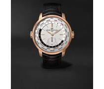 1966 WW.TC Automatic 40mm 18-Karat Rose Gold and Alligator Watch, Ref. No. 49557-52-131-BB6C