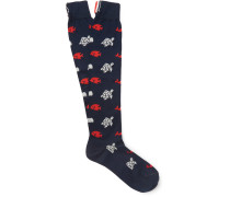 Patterned Cotton Socks