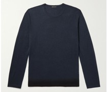Slim-Fit Ombré Cashmere Sweater