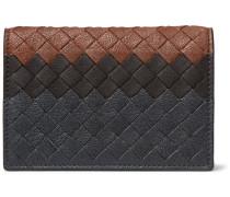 Dégradé Intrecciato Leather Bifold Cardholder