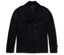 Slim-fit Wool Peacoat