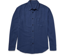 Brushed-cotton Flannel Shirt