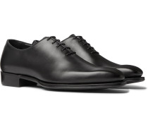 + George Cleverley Whole-Cut Leather Oxford Shoes