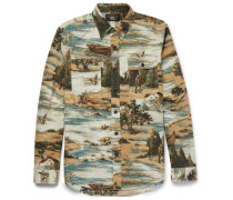 Matlock Printed Brushed-cotton Shirt