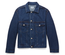 Boris Camp-collar Denim Jacket