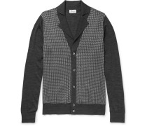 Silk, Wool And Cashmere-blend Cardigan