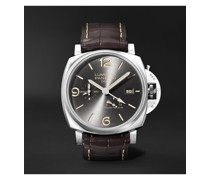 Luminor Due GMT Automatic 45mm Stainless Steel and Alligator Watch, Ref. No. PAM00944