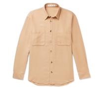 Silk and Cashmere-Blend Shirt