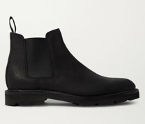 Lawry Waxed-Suede Chelsea Boots