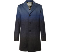 Dégradé Mélange Wool-blend Coat