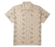 Embroidered Voile Shirt