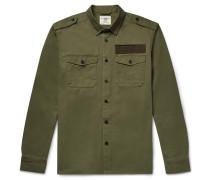 Cotton-twill Overshirt