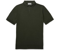 Payton Slim-Fit Wool and Cotton-Blend Polo Shirt