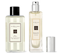 English Oak & Hazelnut Cologne and Basil & Neroli Body Wash Set