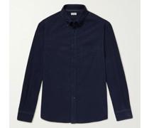 Button-Down Collar Cotton-Needlecord Shirt