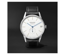 Orion Neomatik Automatic 41mm Stainless Steel and Leather Watch, Ref. No. 360
