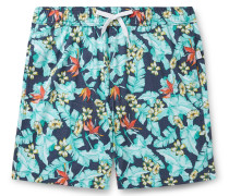 Charles 7 Mid-Length Printed Swim Shorts