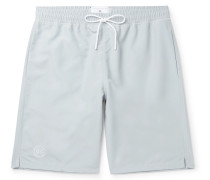 Long-Length Shell Swim Shorts