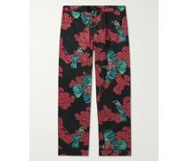 Printed Cotton-Voile Pyjama Trousers