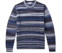 Striped Virgin Wool-Blend Sweater