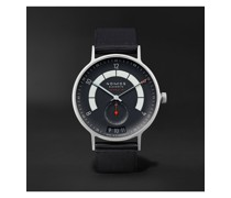 Autobahn Neomatik Datum Automatic 41mm Stainless Steel and Nylon Watch, Ref. No. 1302