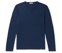Ackley Garment-Dyed Slub Cotton-Jersey T-Shirt