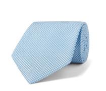 9cm Houndstooth Silk-Jacquard Tie