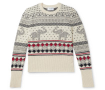 Fair Isle Wool and Mohair-Blend Sweater