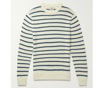Striped Organic Cotton Sweater